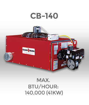 Cb 140 Clean Burn 174 Waste Oil Heater Waste Oil Furnace