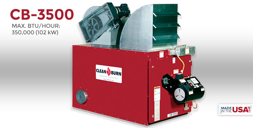 cb 3500 clean burn ® waste oil furnaces \u0026 boilerscb 3500 home our products waste oil furnaces