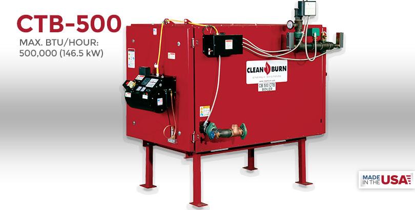 ctb-500, waste oil furnace, used oil furnace, furnace, clean burn