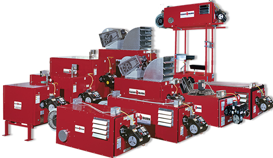 Clean Burn, Waste Oil Furnaces, Waste Oil Boilers, Recycling Used Oil, Free Heat